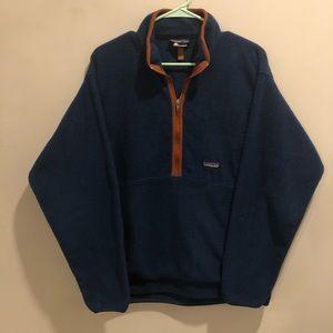 patagonia synchilla  half zip sweatshirt Fleece